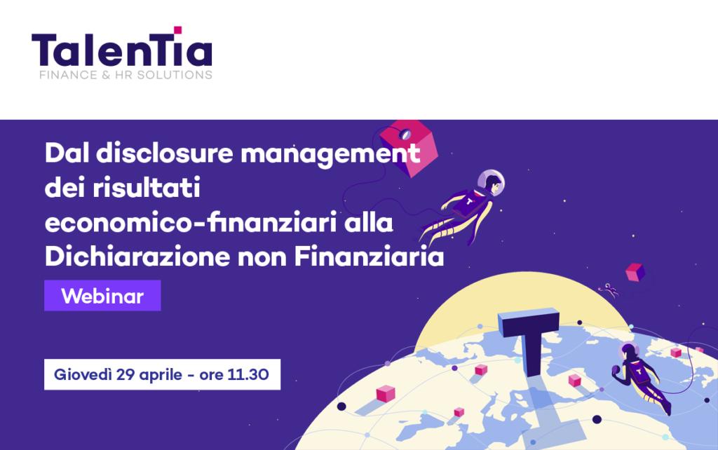 Webinar Talentia Disclosure Management