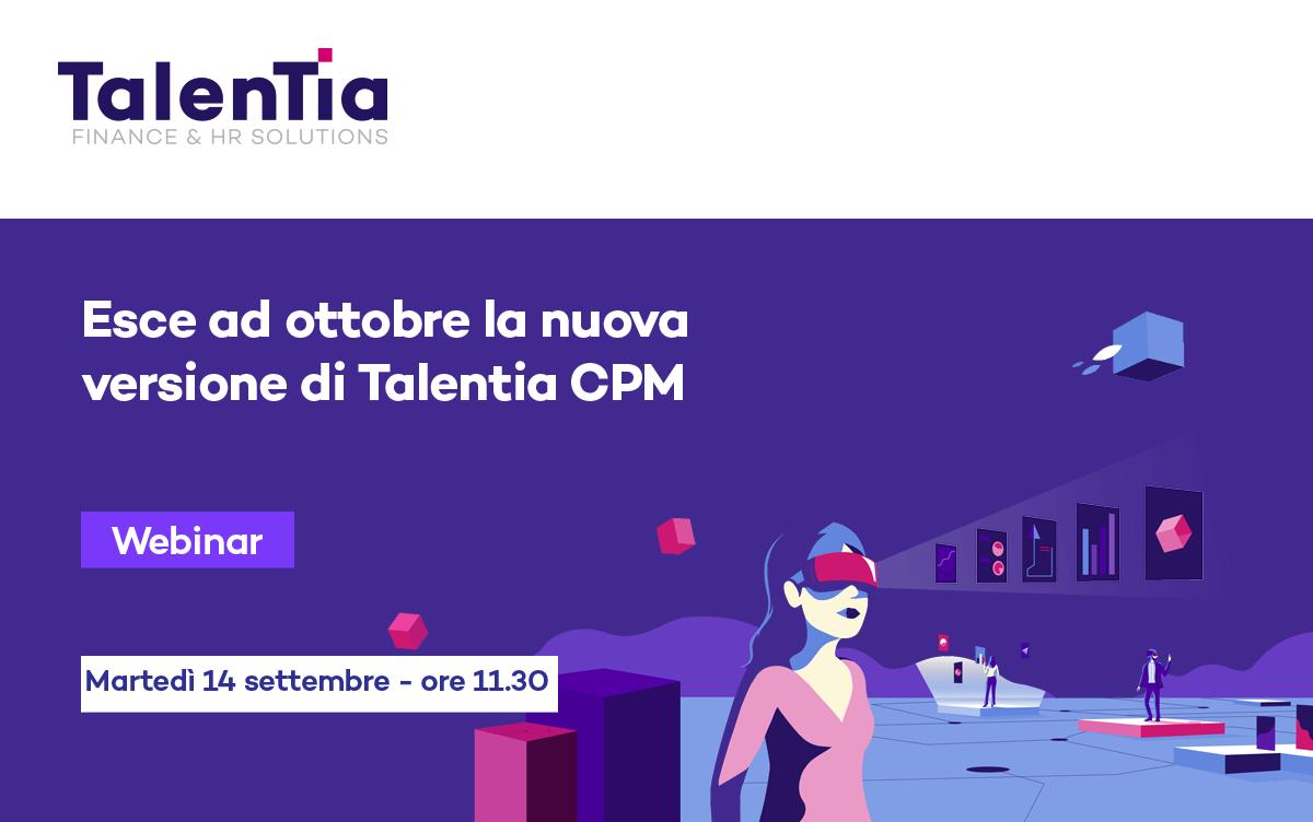 Webinar nuova versione Talentia CPM