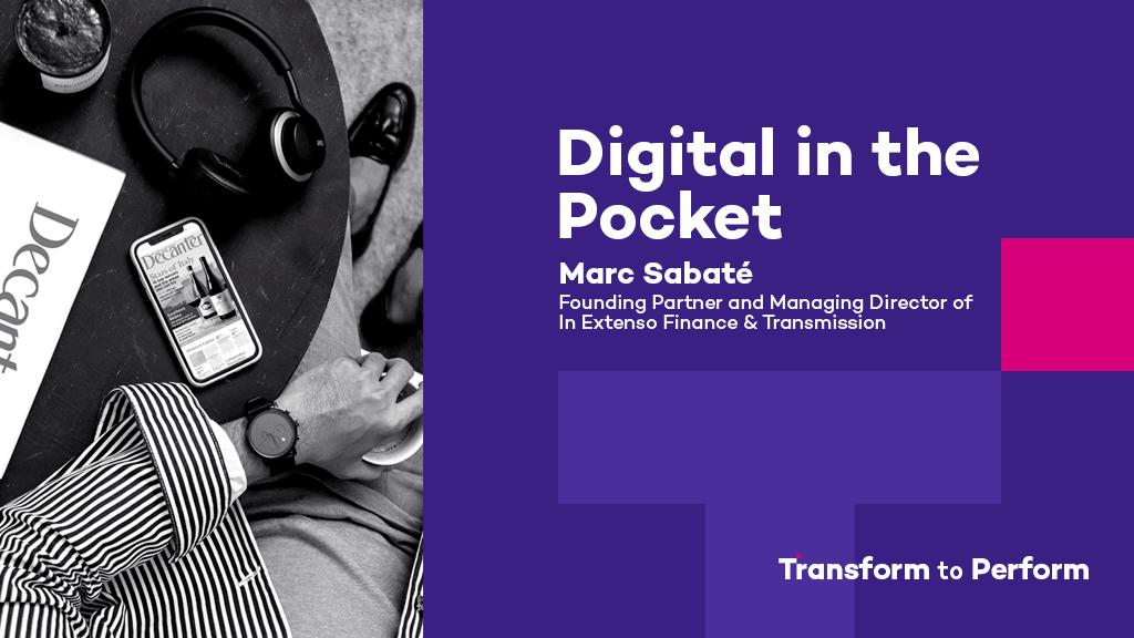 Digital in the pocket Marc Sabaté