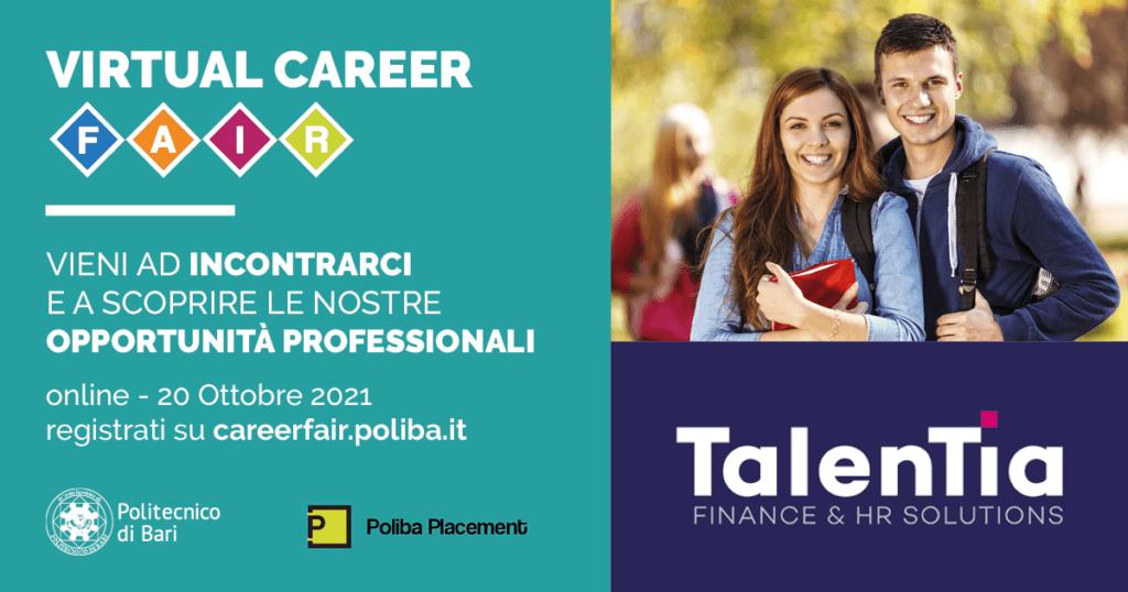 Talentia Virtual Career Fair Poliba
